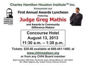 CHHI First Annual Awards Luncheon